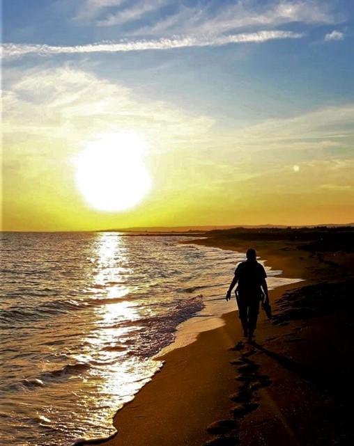 <strong>Una giornata al mare: tramonto alle dune di Passoscuro</strong>