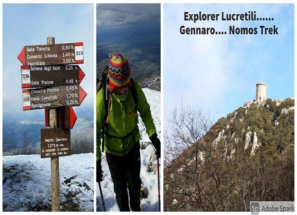 <strong>Explorer Lucretili Gennaro con Nomos Trek</strong>