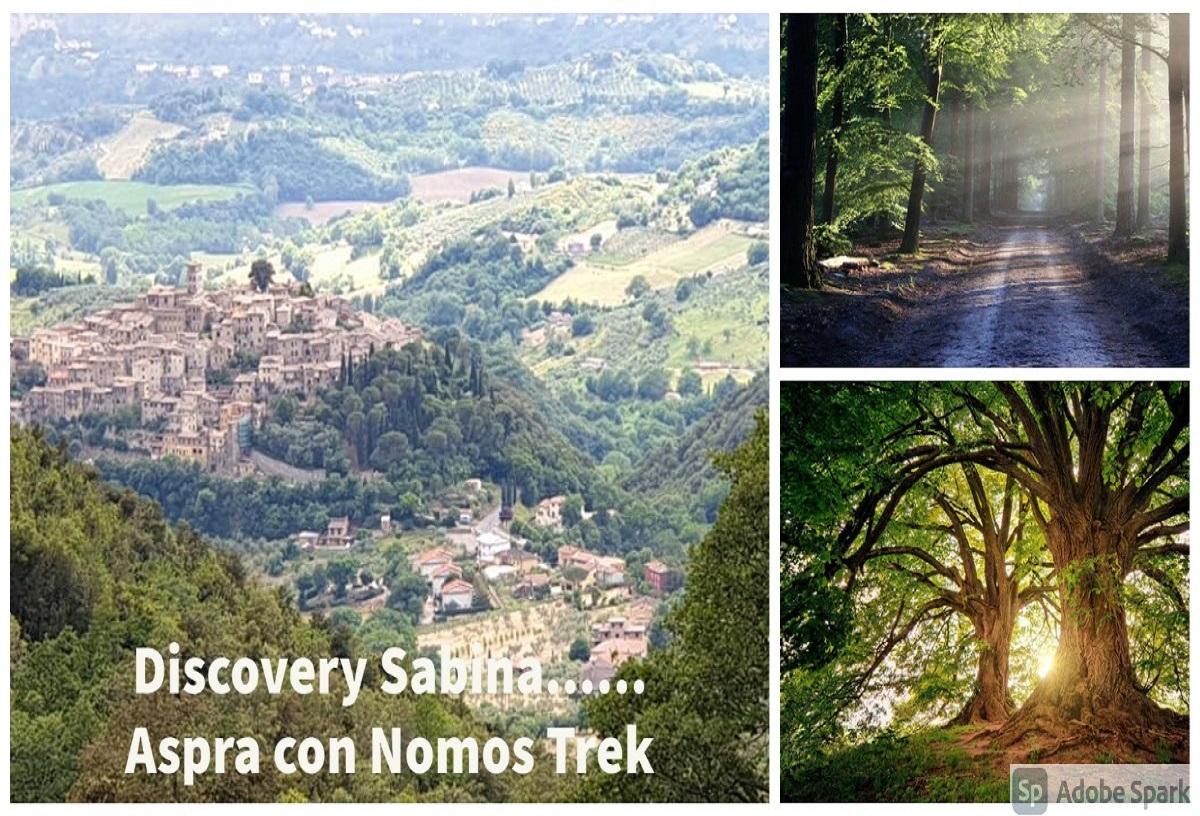 <strong>Discovery Sabina Aspra con Nomos Trek</strong>